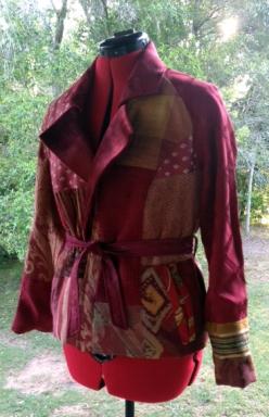 Lush red jacket