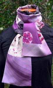Vintage Kimono silks scarf